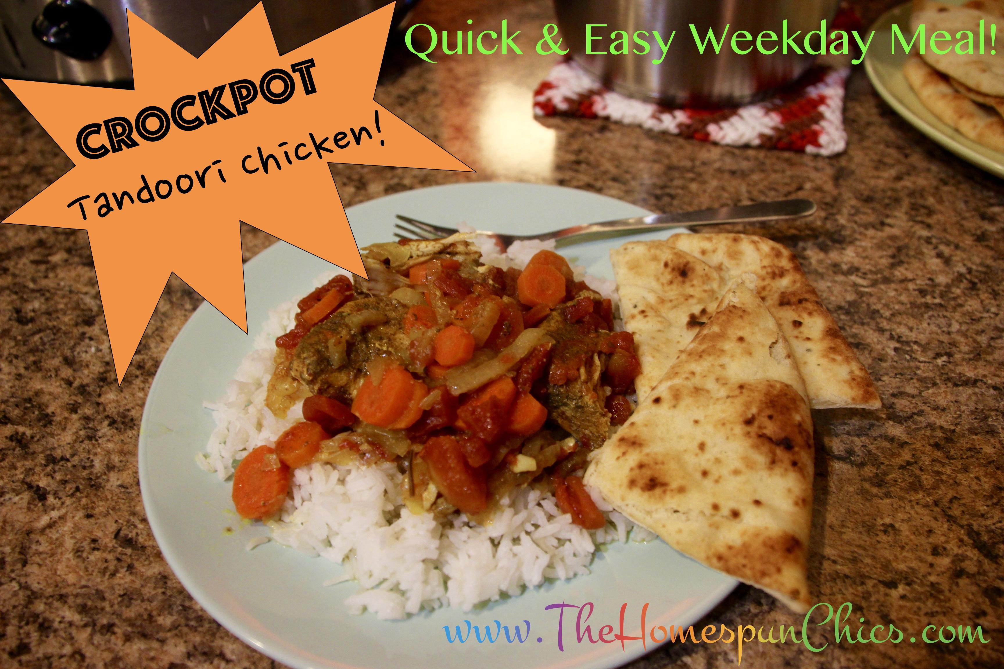 Quick Easy Crockpot Tandoori Chicken