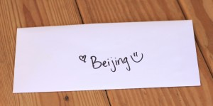 Beijing's Pet Treater Letter