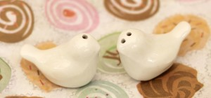 Love Birds Ceramic Salt & Pepper Shakers