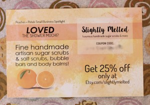 Slightly Melted coupon!