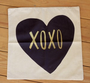 Love Themed Throw Pillow Cover