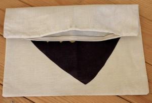 Love Themed Throw Pillow Cover - hidden zipper