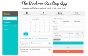 Bookroo Reading Log App
