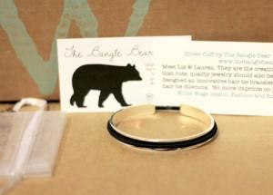 The Bangle Bear hair tie bracelet