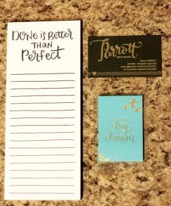 Parrot Design Studio notepads