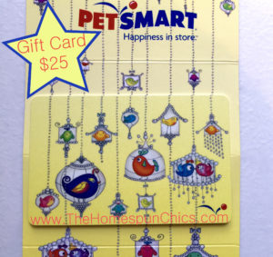 2016.05 PetSmart Gift Card