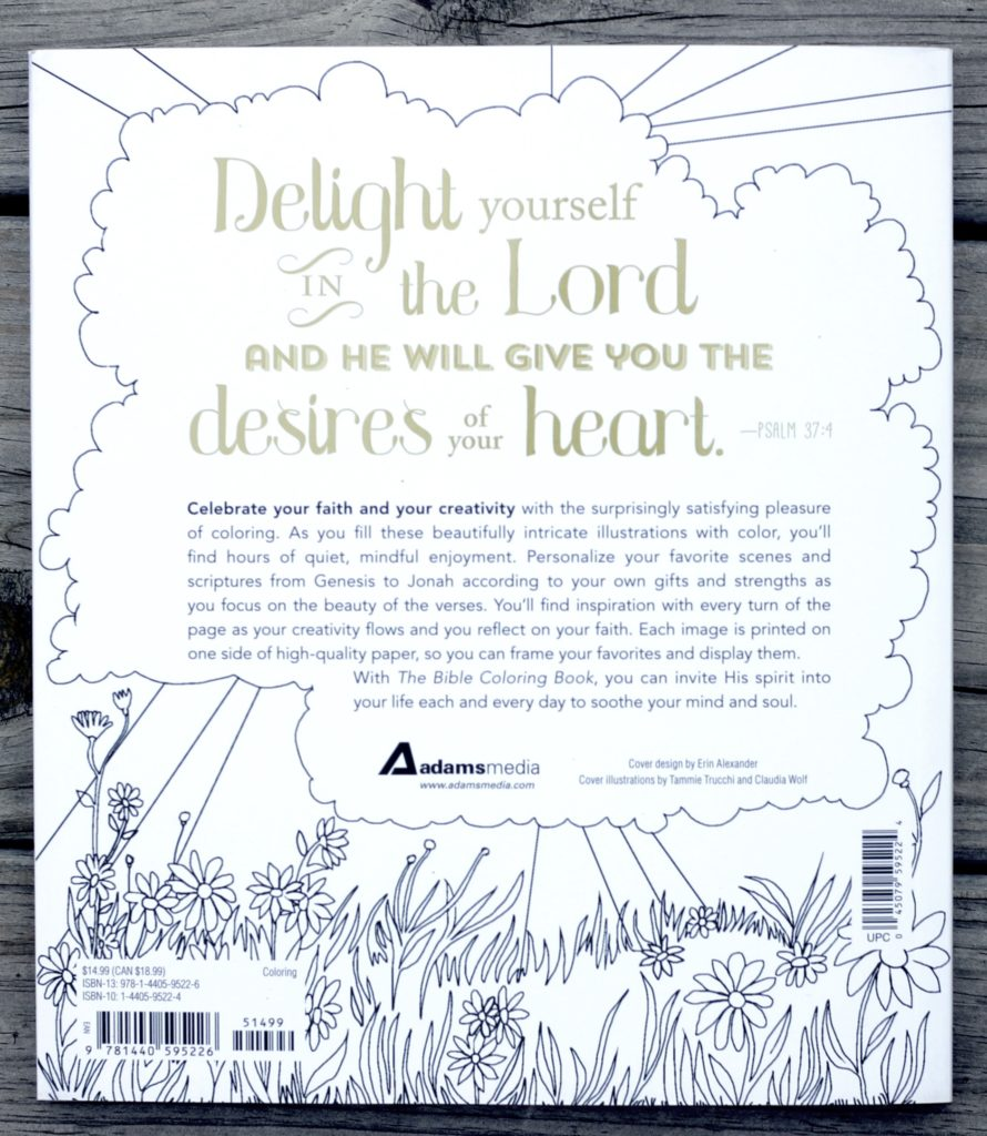 The Bible Coloring Book Giveaway Ends 5 28