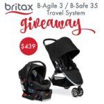 Britax B-Agile 3 B-Safe Travel System Giveaway