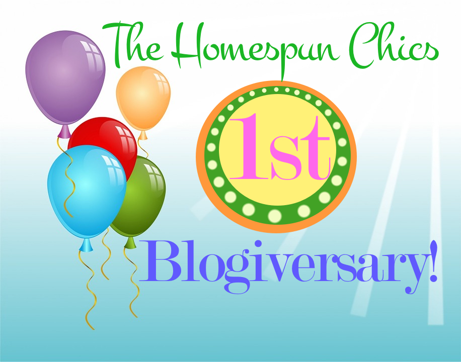 HomespunChics.1stBlogiversary