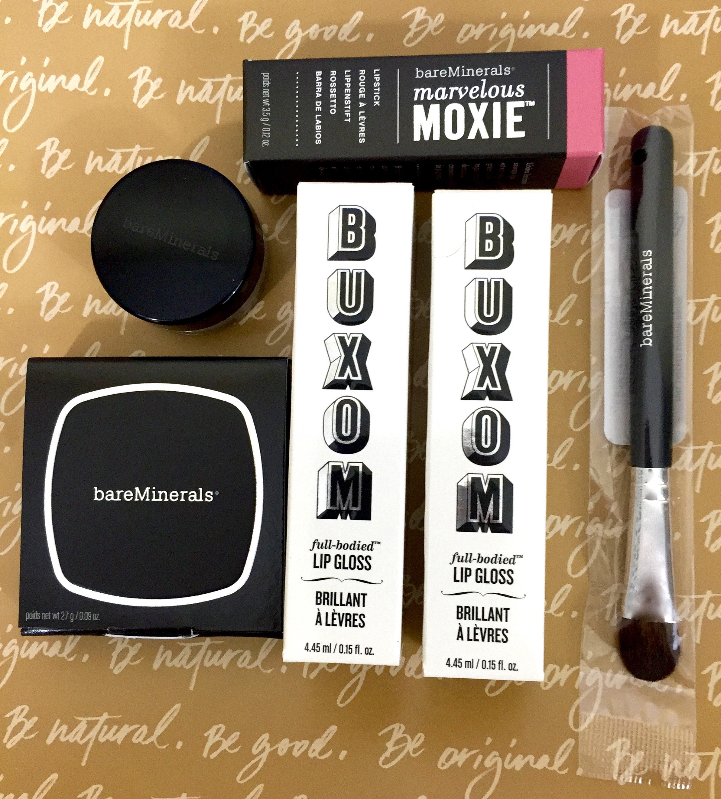 September 2016 bareMinerals 6-Piece Mystery Box Review | The Homespun Chics