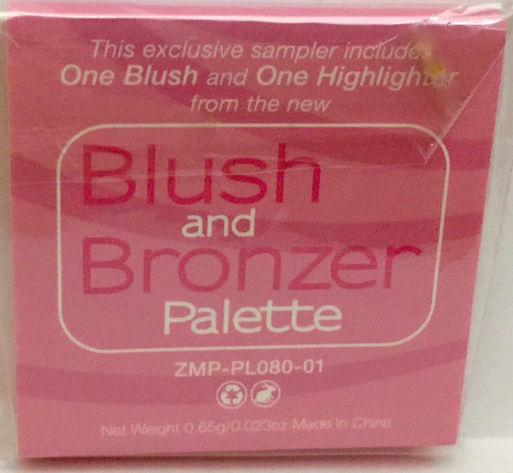 blush and bronzer palette