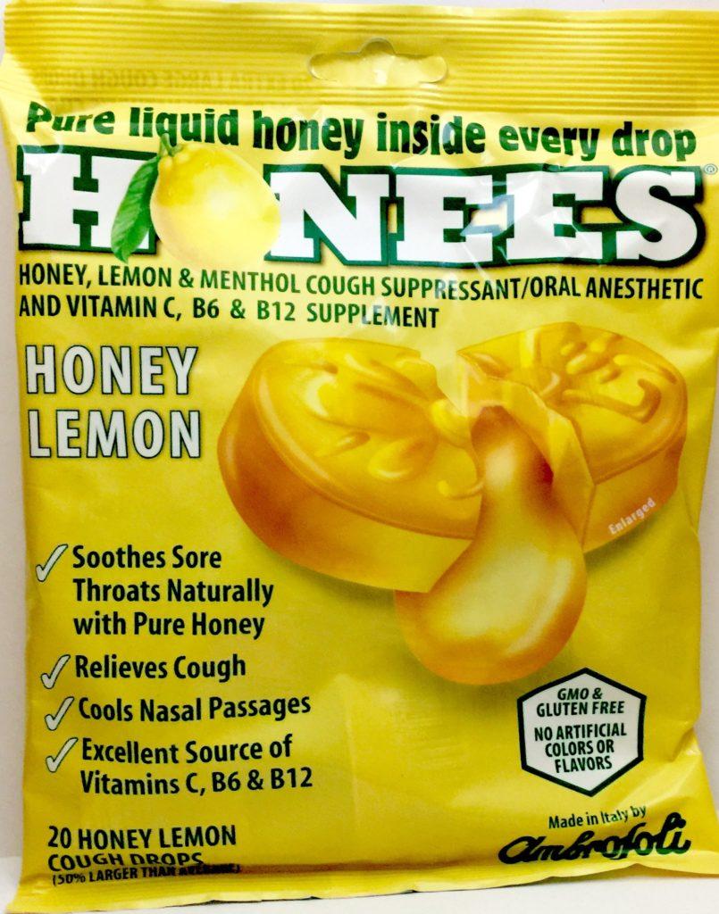 Honees Honey Lemon Cough Drops