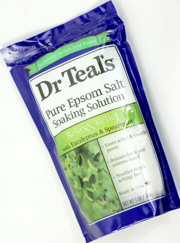Influenster Flawless VoxBox - Dr. Teal's Epsom Salt Soaking Solution
