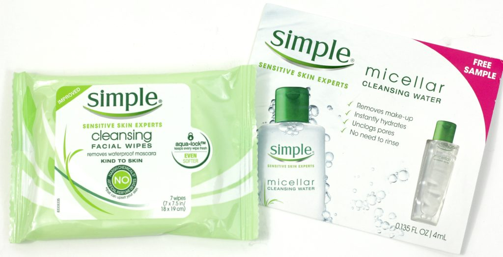 Influenster Flawless VoxBox - Simple Skincare Cleansing Facial Wipes