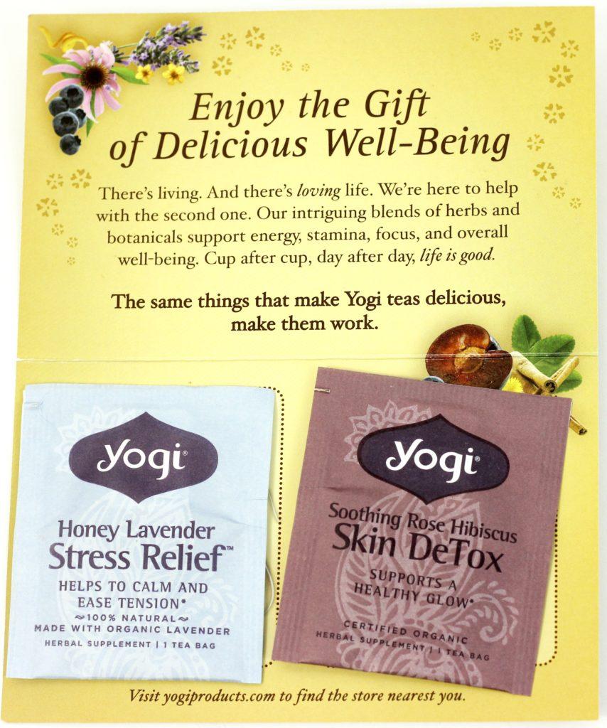 Influenster Flawless VoxBox - Yogi Tea