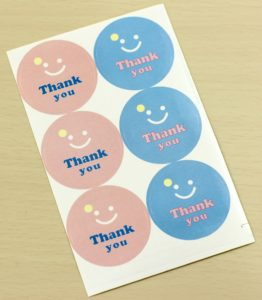 Stickii Club Thank You stickers