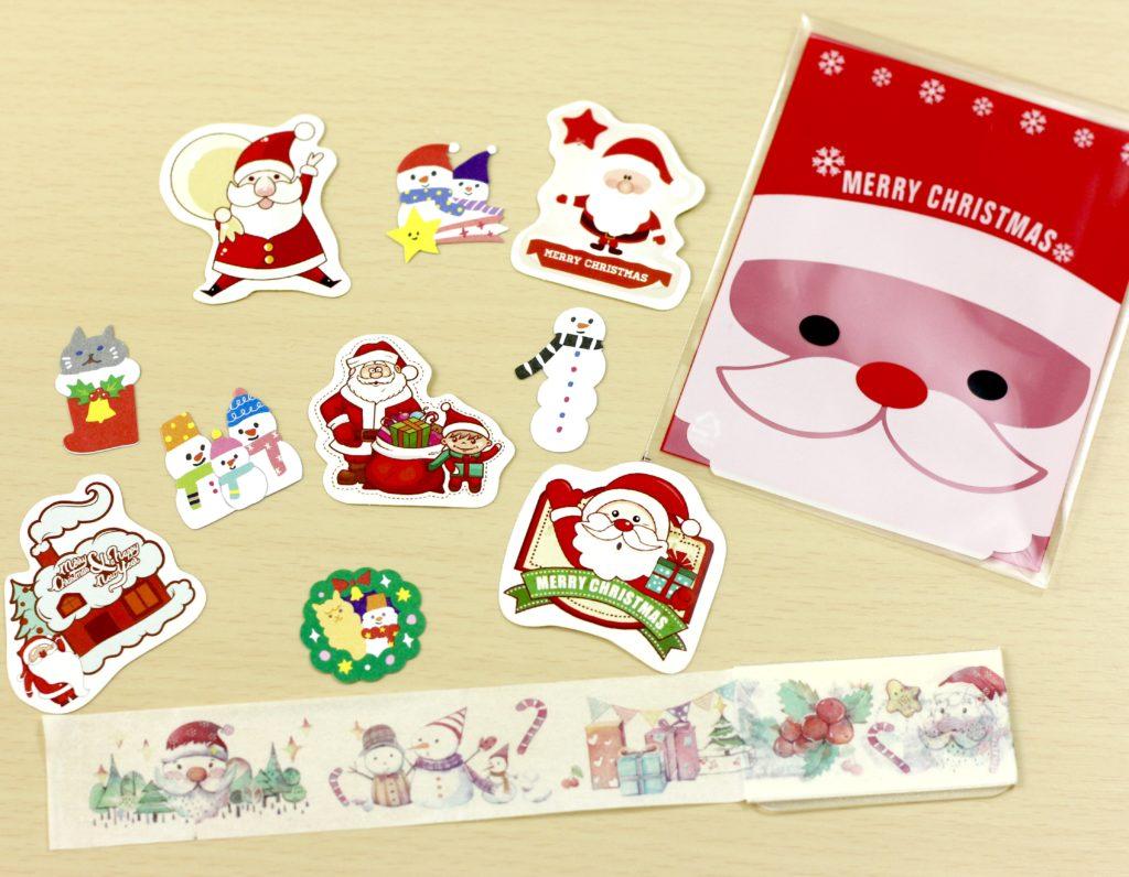 November 2016 Stickii Club small stickers and washi