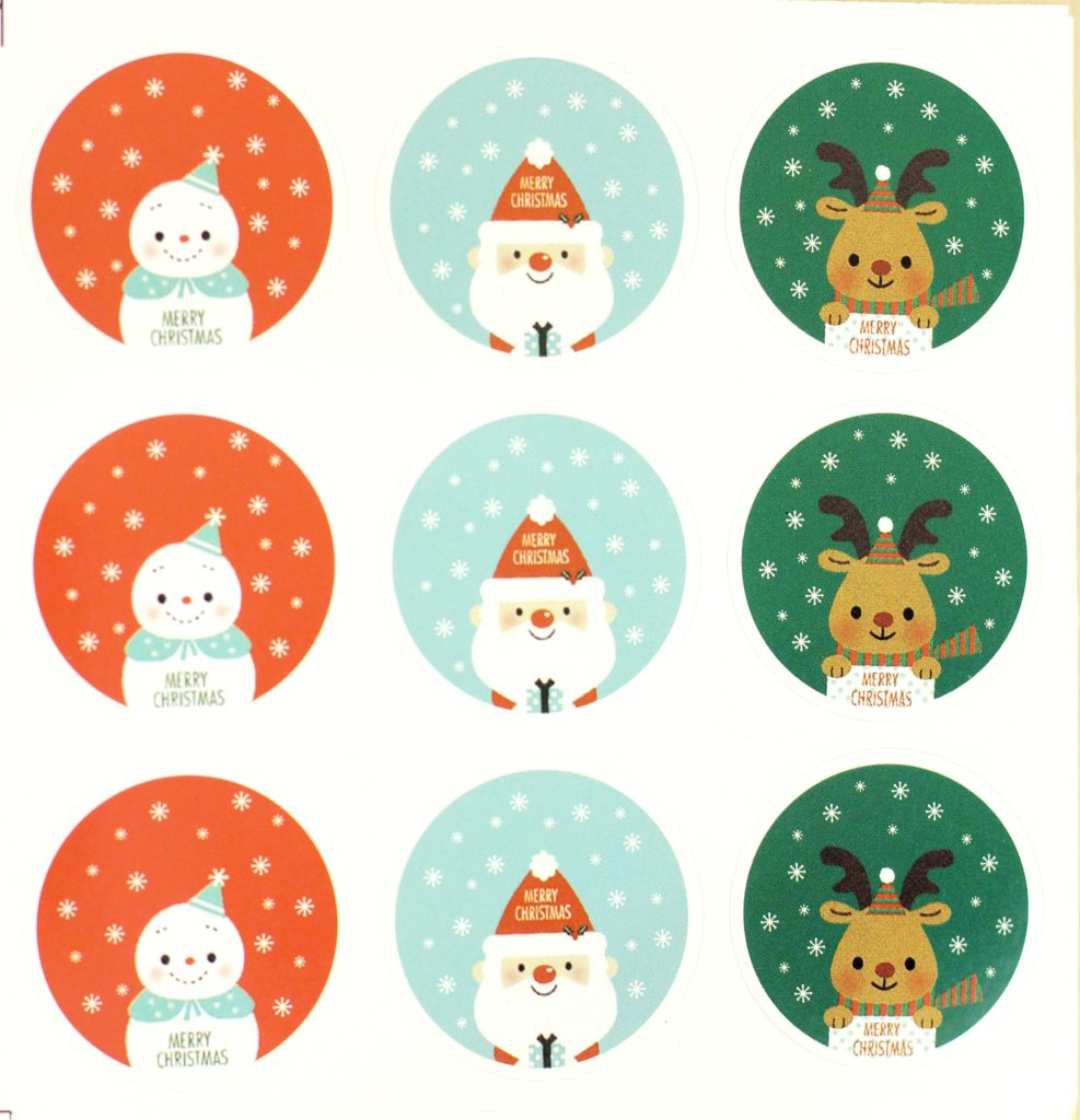 November 2016 Stickii Club Cute Pack greeting stickers