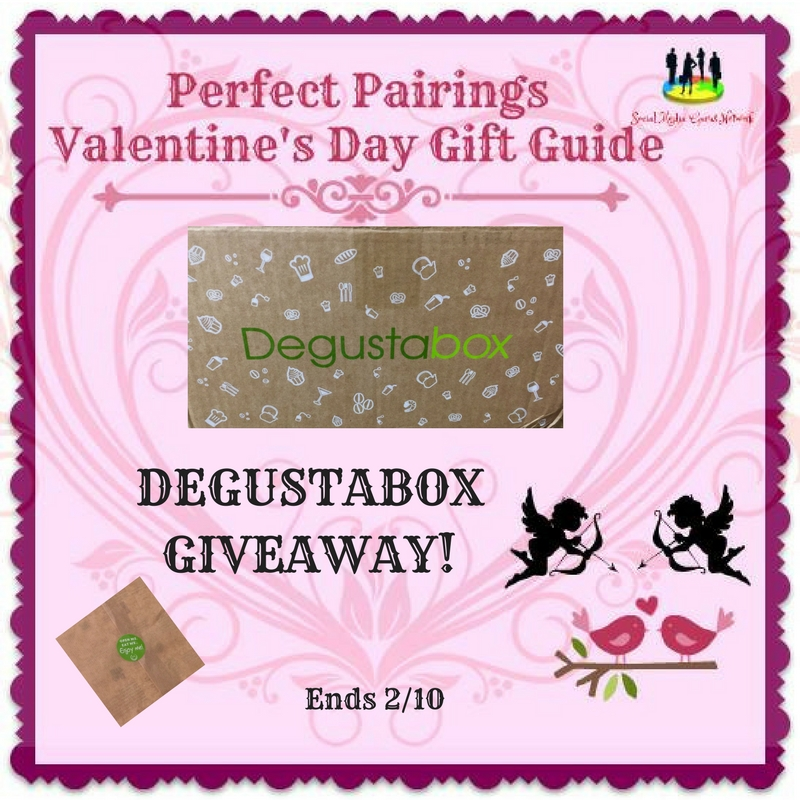 Enter the Degustabox Giveaway. Ends 2/10
