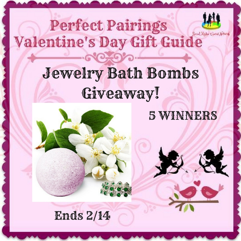 Jewelry Bath Bombs Giveaway! 5 Winners! Ends 2/14