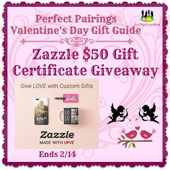 Zazzle 50 gift certificate giveaway ends 2 14 the homespun chics for Zazzle gift certificate