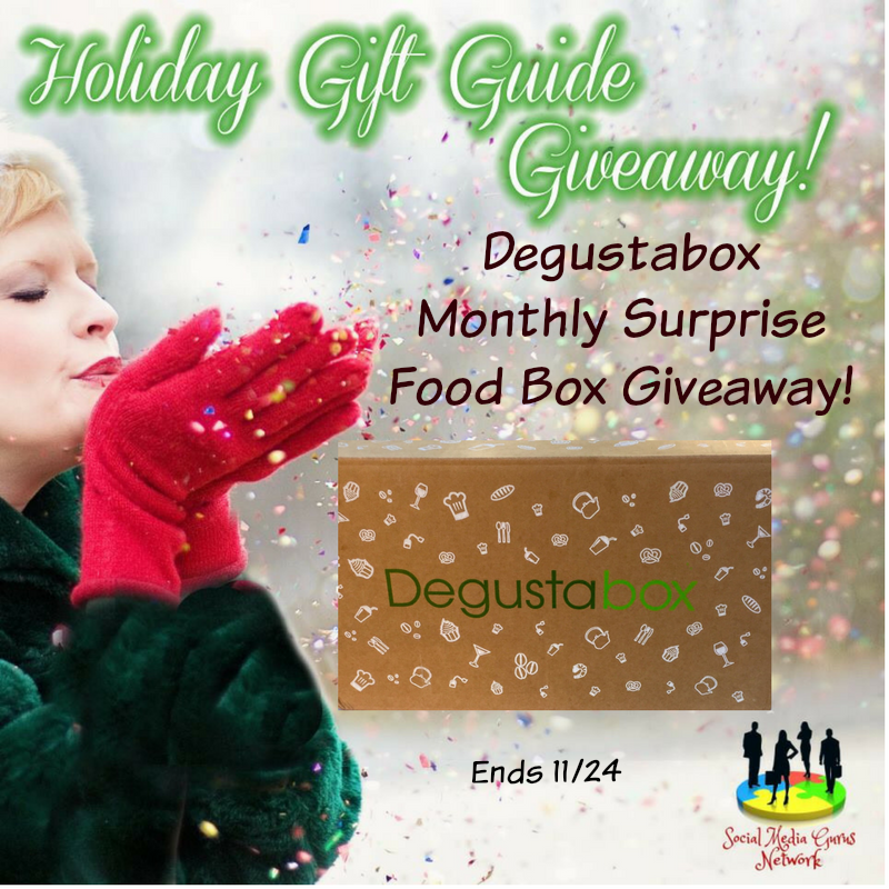Enter the Degustabox Monthly Surprise Food Box Giveaway. ends 11/24
