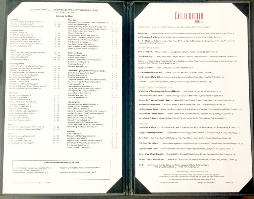 Meyer S Castle Restaurant Menu